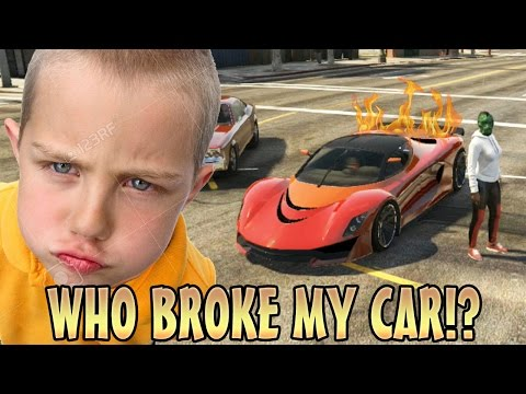 TROLLING KID WITH ENGINE KILL SWITCH! (GTA 5 Funny Trolling)