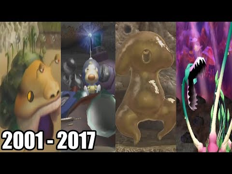 Evolution of Final Bosses in Pikmin Games ( 2001 - 2017 )