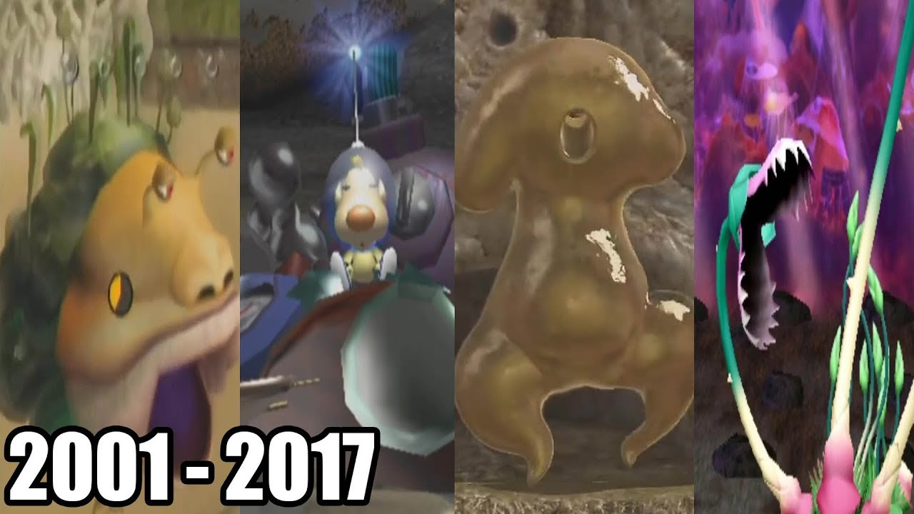 Evolution Of Final Bosses In Pikmin Games 2001 2017 Youtube