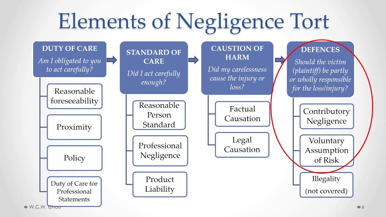 BBA Business Law: Module 4B,  Part E - Negligence Torts & Professional Liability