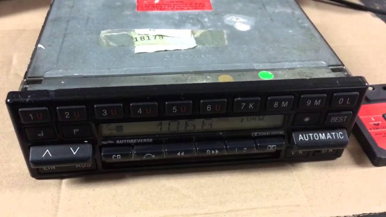 Becker Mexico 753 Radio/casette - YouTube