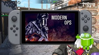 Moderm Ops Online Shooter FPS Android Nintendo Switch