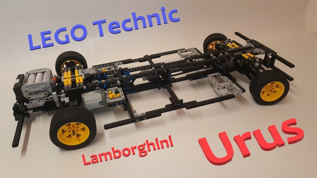 Lego Technic Lamborghini Urus Build Report 1 Youtube