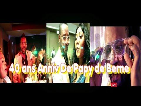 40 ANS ANNIVERSAIRE DE PAPY DE BERNE SUISSE ENINGANI TEMBE ESILI