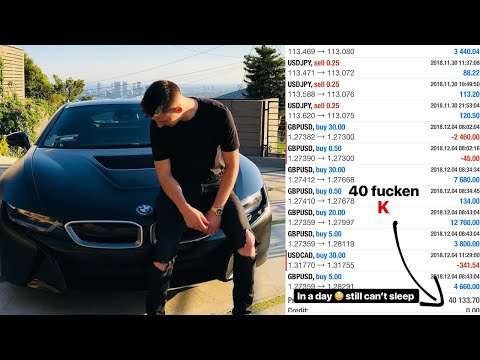 Making $40,000 In A Day | Life Of A Forex Trader