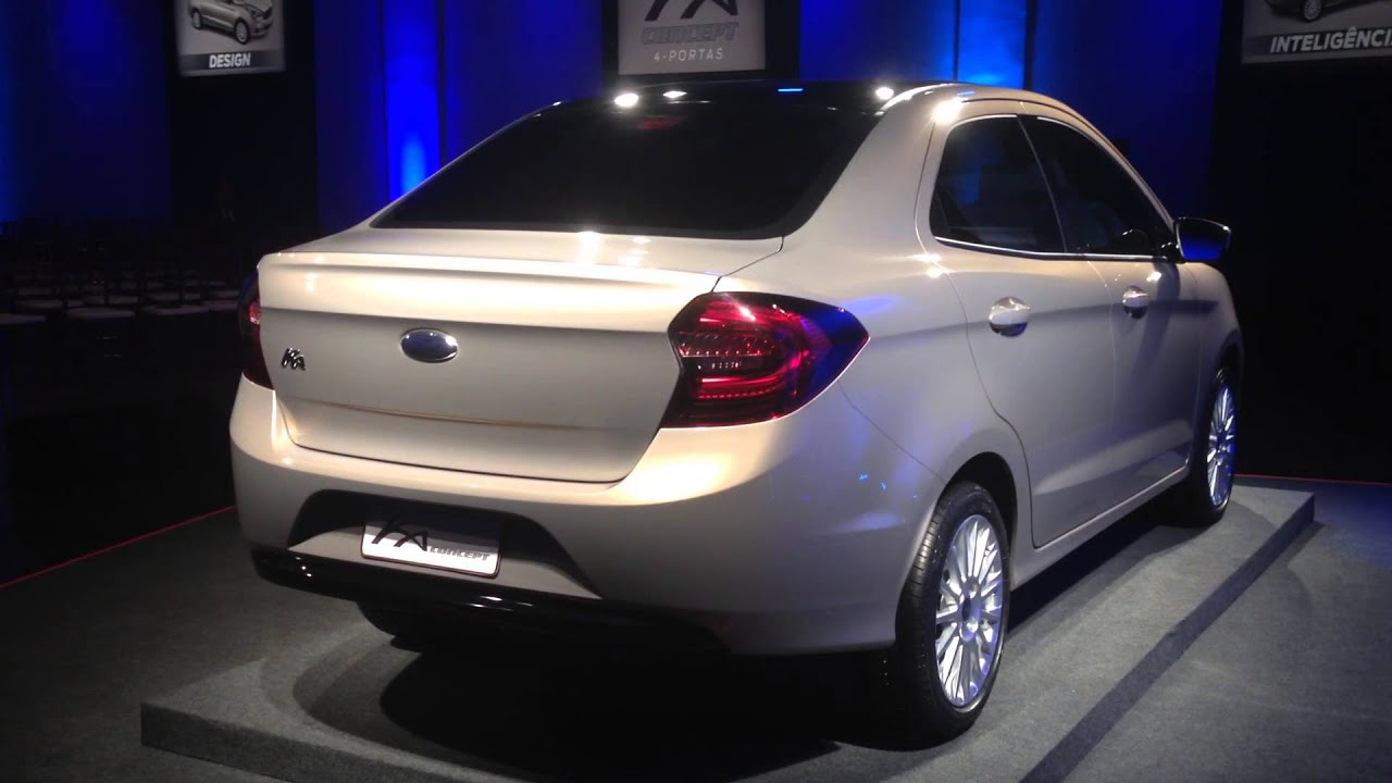 Novo Ford Ka Sedan Youtube