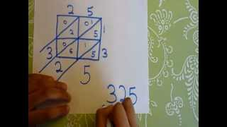 Lattice Multiplication - Very Easy Explaination