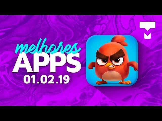 Melhores Apps da Semana para Android e iOS (01/02/2019) - TecMundo