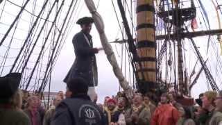 Kieler Woche 2013 - Das größte Holzsegelschiff der Welt kommt nach Kiel