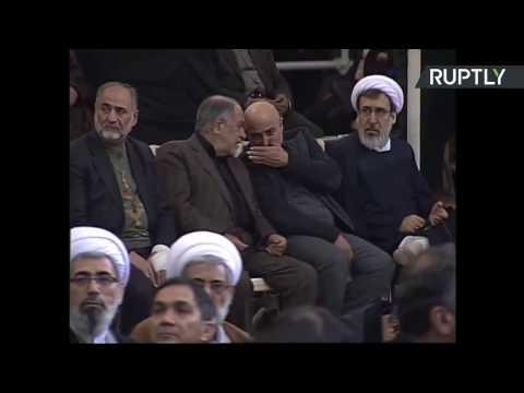 Iran: des centaines de milliers de personnes aux funérailles de Rafsandjani (Direct du 10.01)