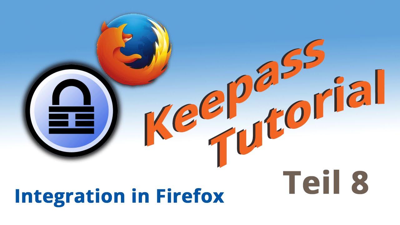 Keepass 2 Firefox