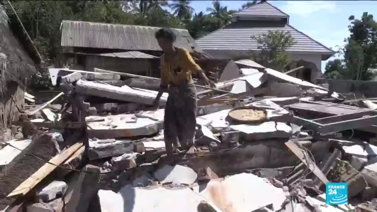 فرانس 24:Special report: France 24 follows an NGO offering relief after the earthquake in Indonesia