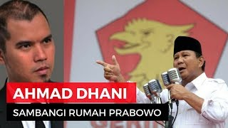 Video Ahmad Dhani ke Rumah Prabowo? Ngapain? download MP3, 3GP, MP4, WEBM, AVI, FLV September 2018