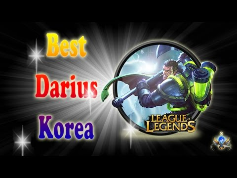 Best Darius Korea(KR) - Darius Highlights S7(Season7) - 2017
