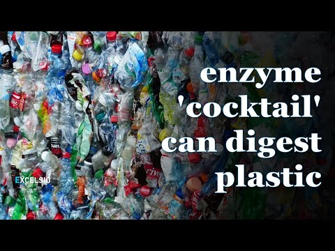 Scientists created an enzyme 'cocktail' which can digest plastic up to six times faster