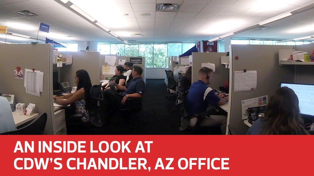 Inside Look At Cdw S Chandler Az Office