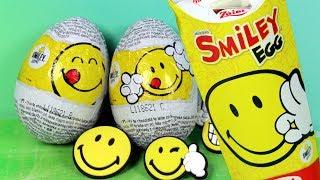 Emotki Film • Jajka Niespodzianki Smiley Egg • Biedronka • Zaini • Unboxing