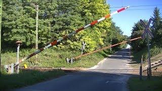 Spoorwegovergang Kaposmérő (H) // Railroad crossing // Vasúti átjáró