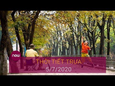 Thời tiết trưa 5/7: Ngày Chủ nhật đẹp trời | VTC Now