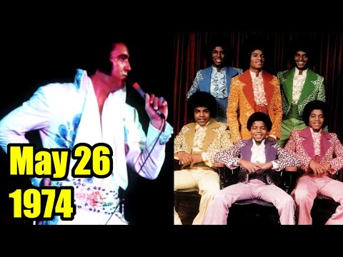 ELVIS INTRODUCES JACKSON 5 | Motown Legends see the King in Concert, 1974