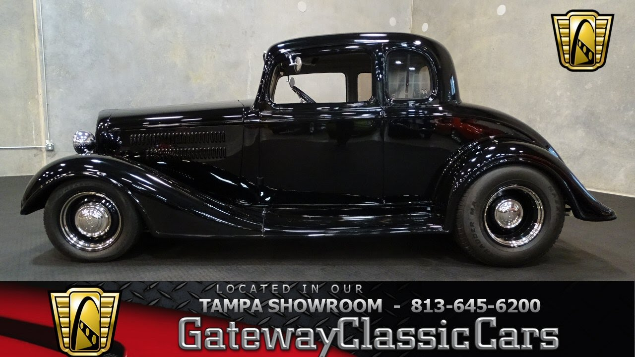 1934 Chevrolet Master 5 Window Coupe 383 C I D Stroker V8 4 Speed Automatic  602-TPA