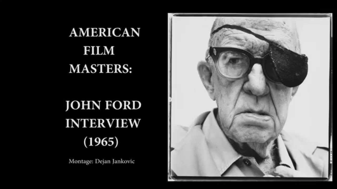 0ce7306d054 American Film Masters - John Ford TV Interview (1965) - YouTube