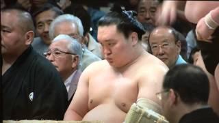 平成二十七年 大相撲 五月場所 千秋楽 優勝 照ノ富士関