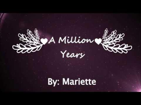 Mariette - A Million Years (Lyrics)