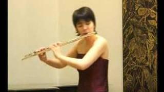 Dutilleux Sonatine - Alexandra Grot (flute)