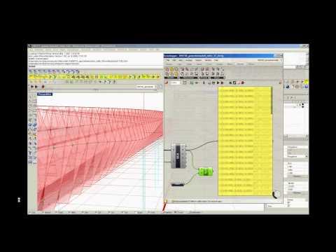 Knippers Helbig - Parametric bridge Opladen