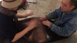 Jamming with Spacedrum Handpan