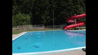 W Iwoniczu -  Zdroju oddano do użytku nowy basen