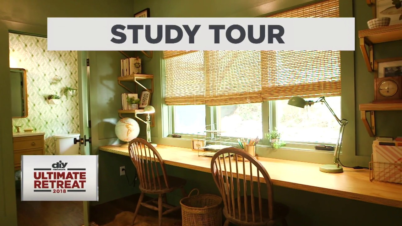 diy network ultimate retreat 2018 study tour youtube. Black Bedroom Furniture Sets. Home Design Ideas