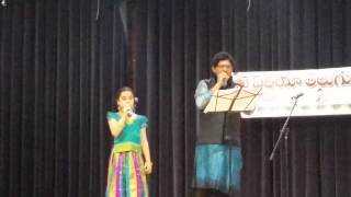 Amruta & Ramachary -- Maate Mantramu --- Bay Area  LMA Workshop -- Aug 2015