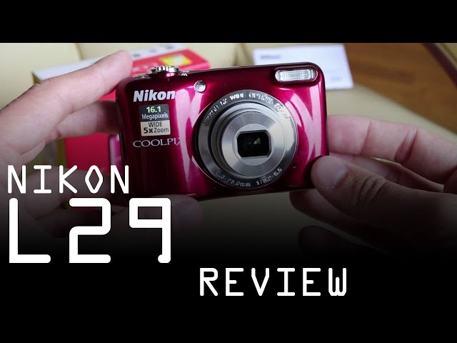 Nikon Coolpix L29 review