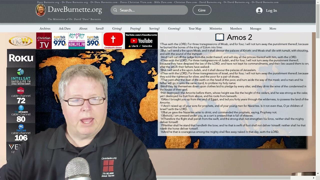 Amos 2 ✒️ Ungodly Influences