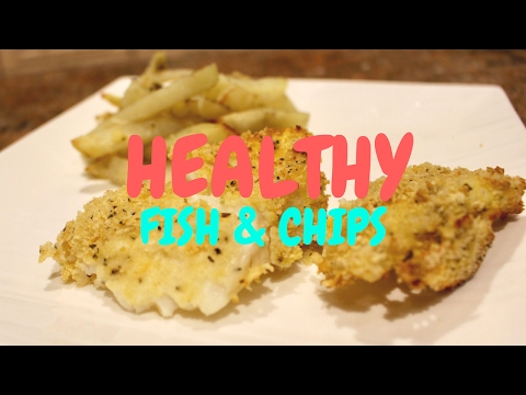 How to Make Healthy Fish and Chips (Air fryer option) + Outtakes