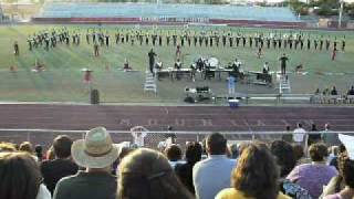 Horizon High School 2007 Marching Band Show - Fire and Ice