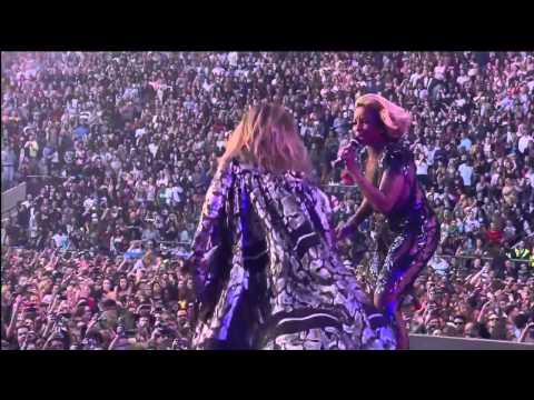 Jennifer Lopez and Mary J  Blige live Come Together at Chime for change