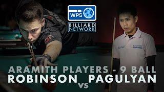 Alex PAGULAYAN vs Chris ROBINSON   World Pool Series - Aramith Players Championship - 9 Ball
