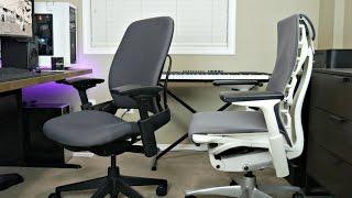 Steelcase Leap V2 Ergonomic Chair vs Herman Miller Embody | Best Office/Gaming Chair Review