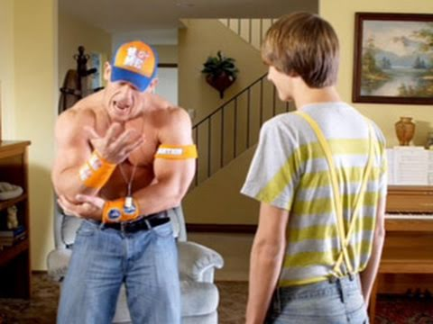 "John Cena guest stars on Nickelodeon's ""Fred: The Movie"""