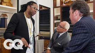 A Suit that Costs More Than Your Car? 2 Chainz Explains – GQ's Most Expensivest Shit