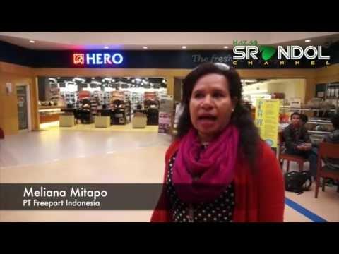 HERO Swalayan di Tambang Freeport Tembagapura