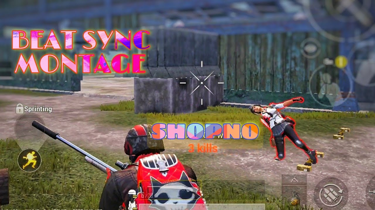 SHOPNO - A PUBG Mobile beat sync Montage | Try To Edit like @69 JOKER    @7 7 7    | SNAk3 Gaming