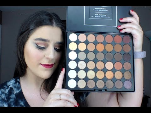 BH Cosmetics Studio Pro Ultimate Neutrals Palette - Review, Swatches and Tutorial!
