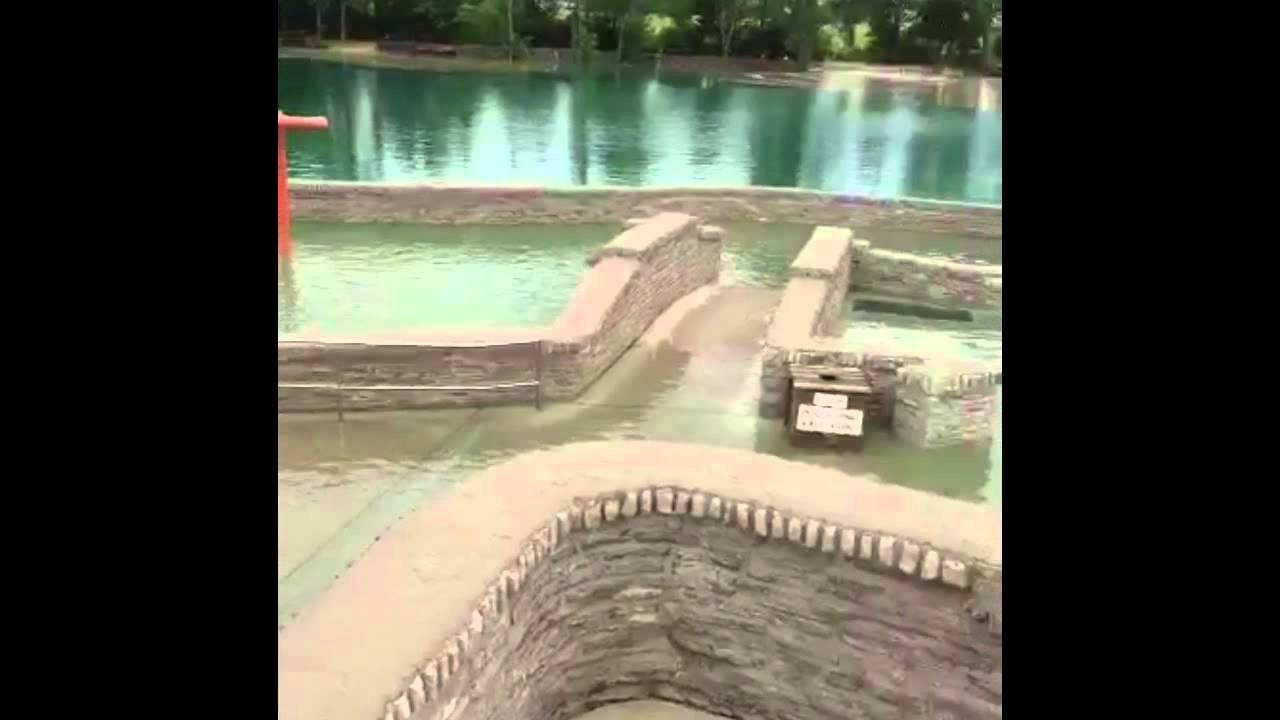 Columbus Grove Municipal Pool Flood 2015 Youtube