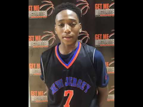 Tahaad Pettiford (Train2Go/The Patrick School/Newark, NJ) 2024 5'7 PG