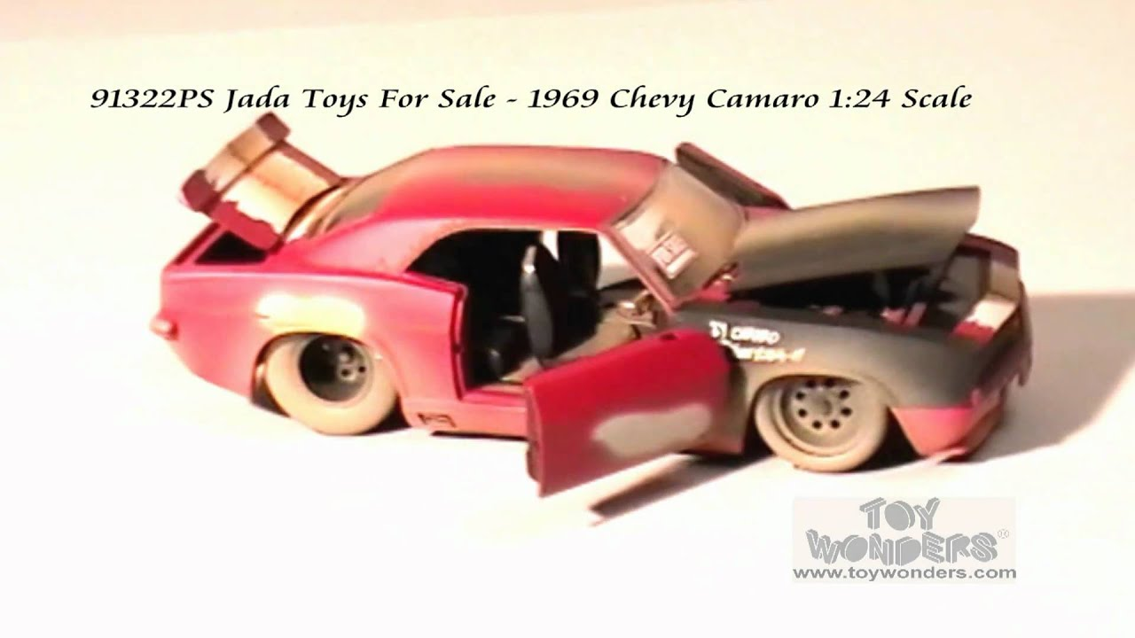 PS Jada Toys For Sale 1969 Chevy Camaro 124 Scale Diecast