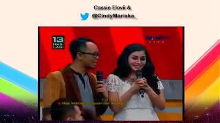 Nisya Ahmad Kedatangan Suami dan Anak Tercinta di Everybody Superstar (2 Desember 2015)